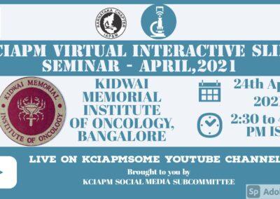 Virtual Interactive Slide Seminar – 2021